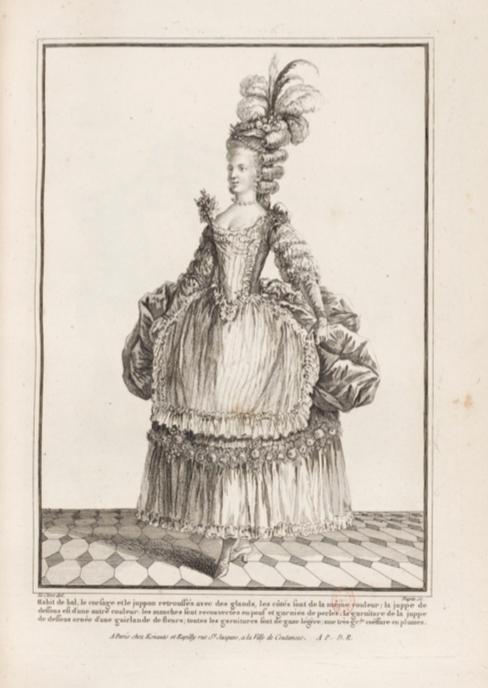 La Galerie des Modes et Costumes Français Captu285