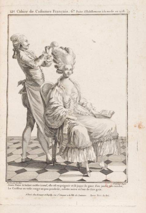 La Galerie des Modes et Costumes Français Captu287
