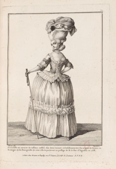 La Galerie des Modes et Costumes Français Captu291