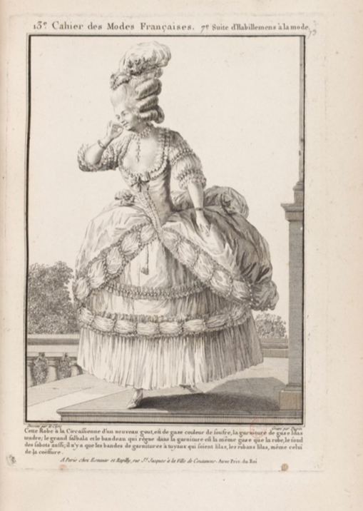 La Galerie des Modes et Costumes Français Captu293