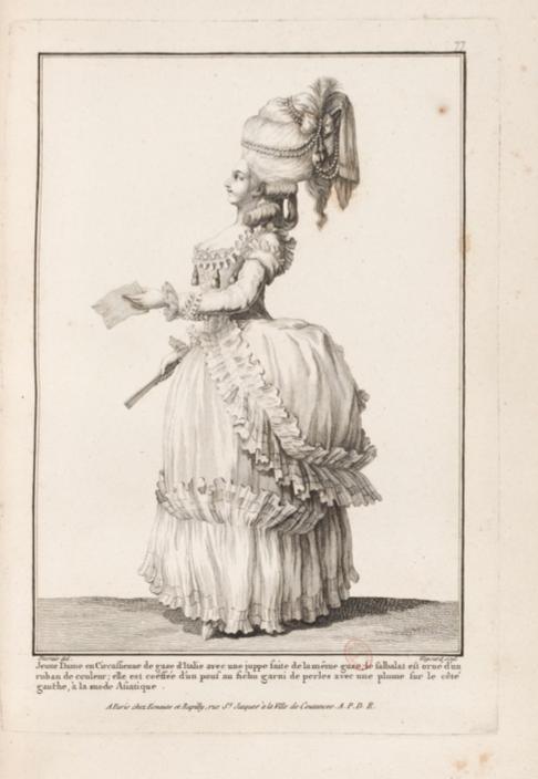 La Galerie des Modes et Costumes Français Captu297