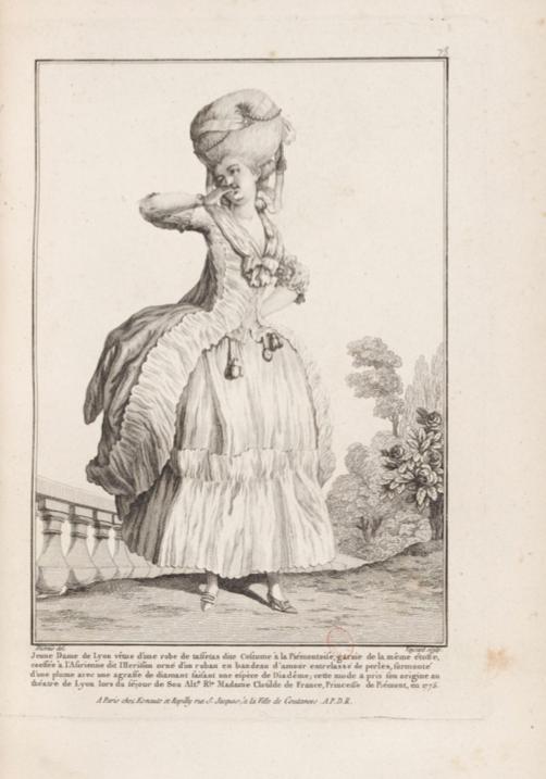 La Galerie des Modes et Costumes Français Captu298