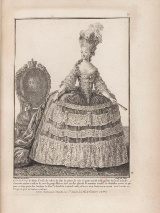 La Galerie des Modes et Costumes Français Captu299