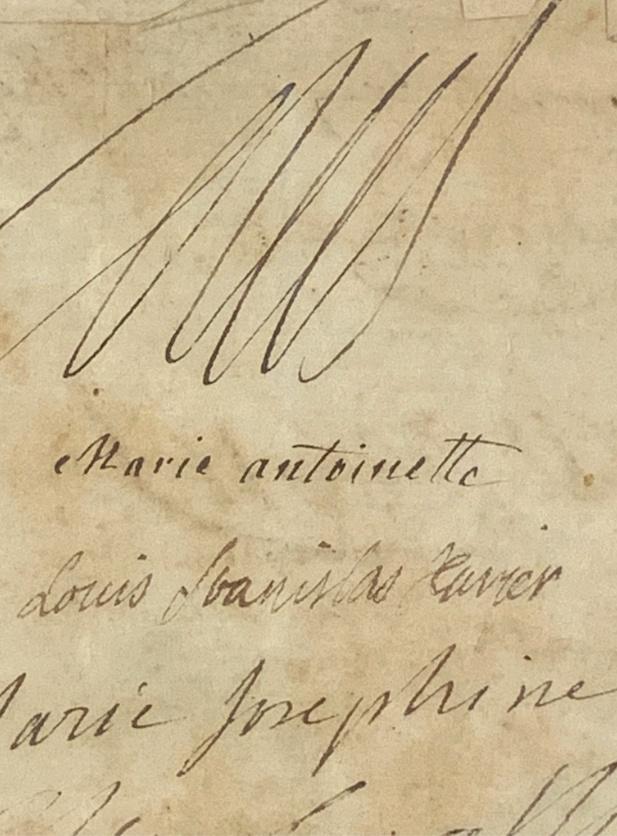 Exposition « L'anti Marie-Antoinette : Marie-Joséphine Louise de Savoie » à la chapelle expiatoire Captu319