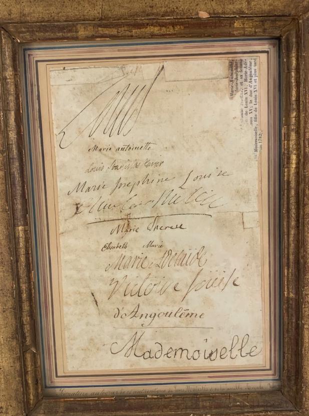 Exposition « L'anti Marie-Antoinette : Marie-Joséphine Louise de Savoie » à la chapelle expiatoire Captu320