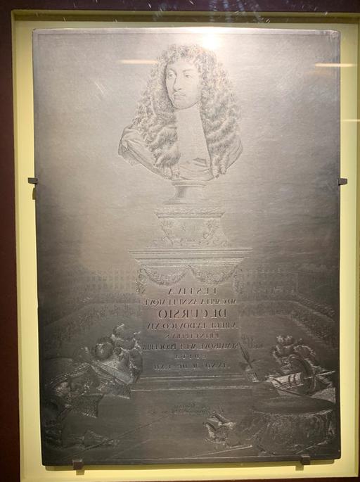 """Exposition """"Graver pour le roi"""" au musée du Louvre Captu379"""