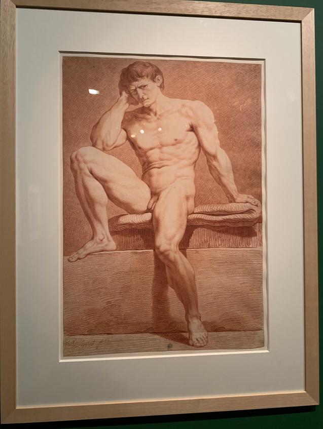 Expo Cognacq Jay : Génération en Révolution - Dessins français du musée Fabre Captu384