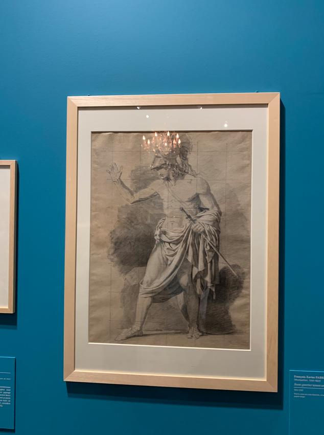 Expo Cognacq Jay : Génération en Révolution - Dessins français du musée Fabre Captu386