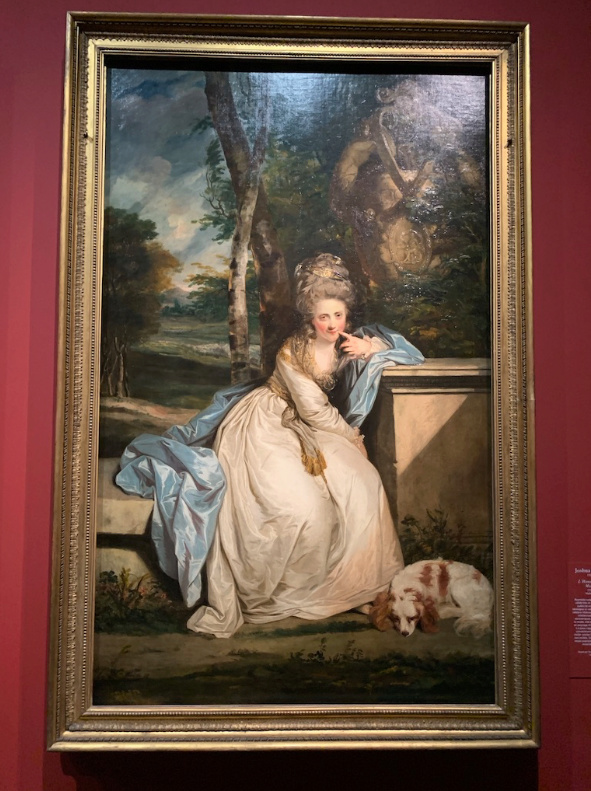 """Exposition Musée du Luxembourg : """"L'âge d'or de la peinture anglaise"""", de Reynolds à Turner Captu419"""