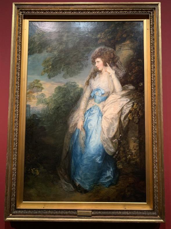 """Exposition Musée du Luxembourg : """"L'âge d'or de la peinture anglaise"""", de Reynolds à Turner Captu421"""