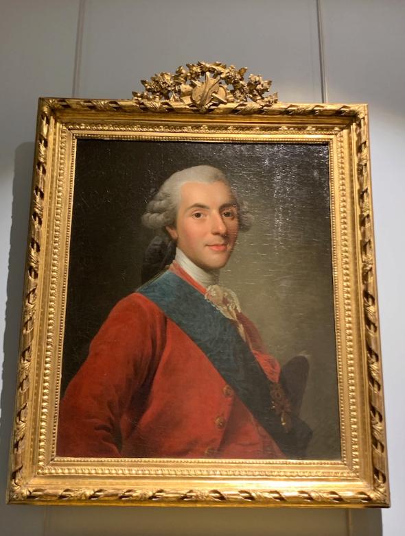 Cent portraits pour un siècle. Exposition au Musée Lambinet (Versailles) et Palais Lascaris (Nice) Captu449