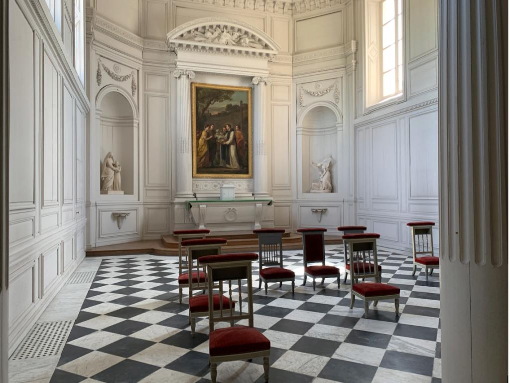 La chapelle du château de Trianon Captu489