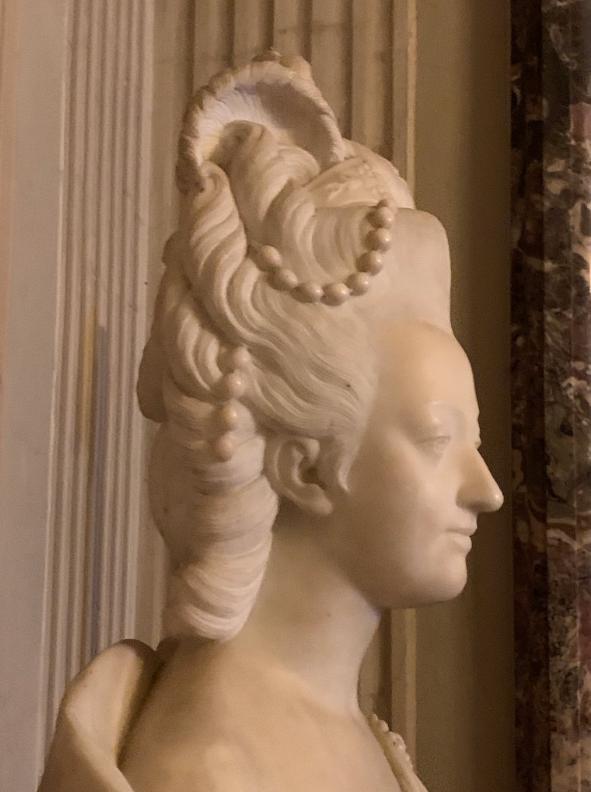 Buste de Marie-Antoinette, Palais Pitti (Florence) Captu702