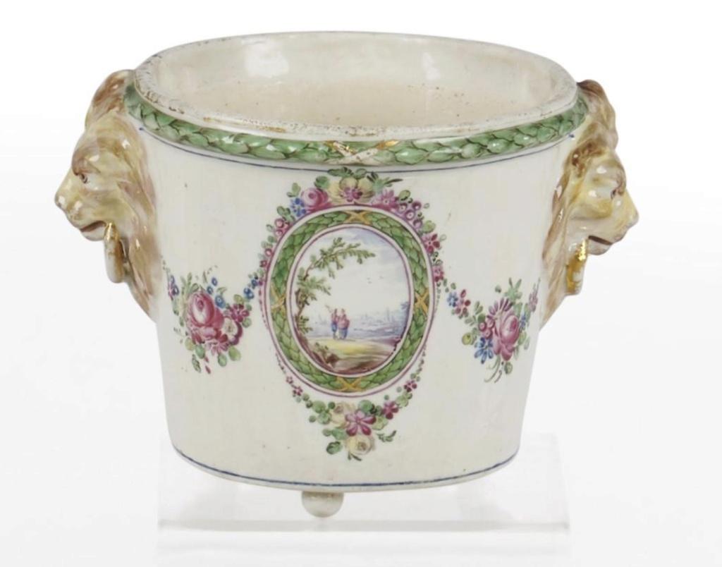 La porcelaine de Bourg-la-Reine au XVIIIème siècle  Captu718