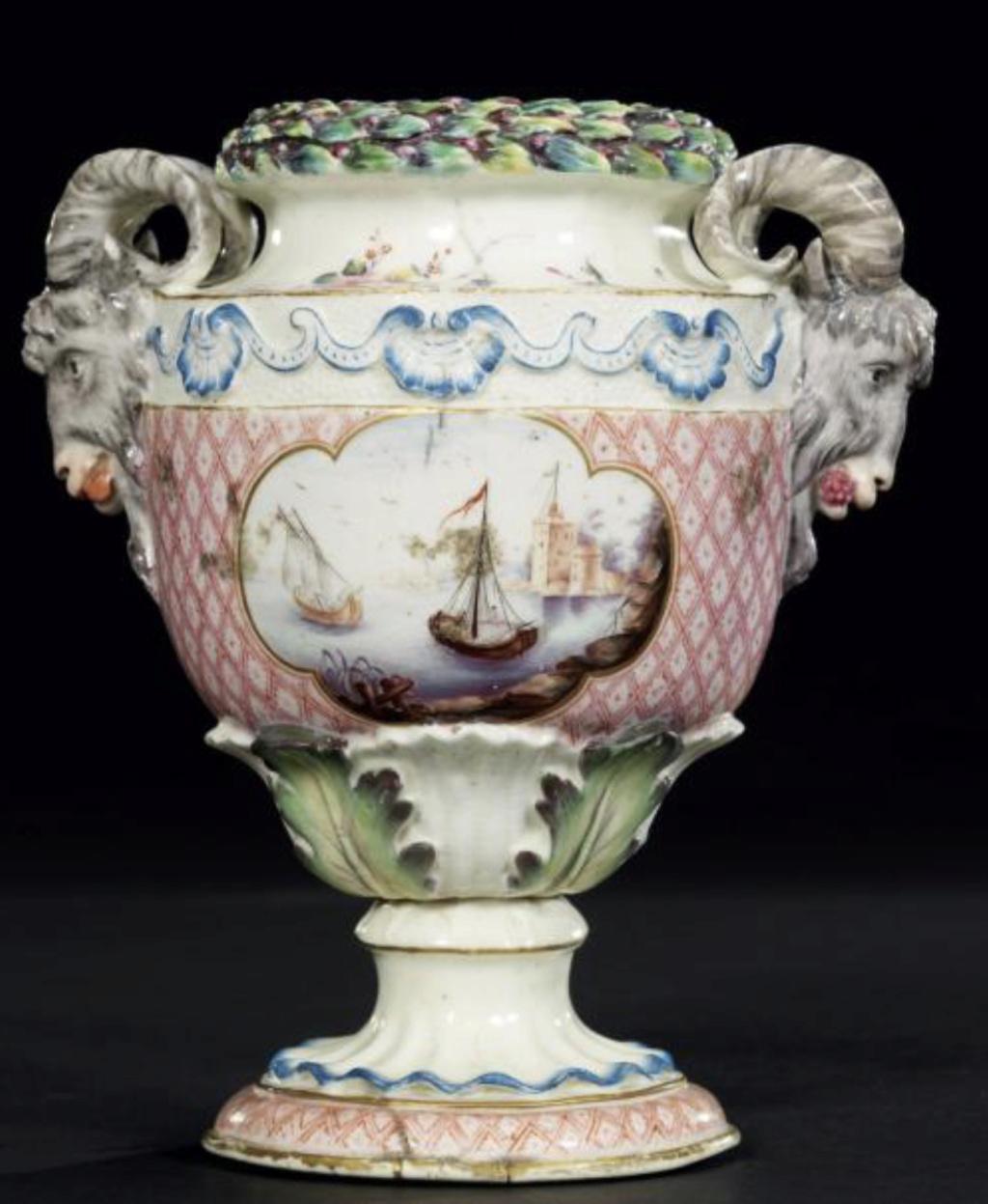 La porcelaine de Bourg-la-Reine au XVIIIème siècle  Captu720
