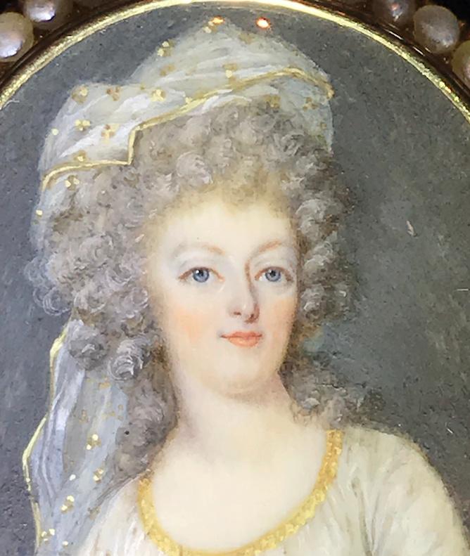 Divers portraits de Marie-Antoinette : miniatures du XVIIIe siècle (dont artistes non attribués) - Page 4 Captur43