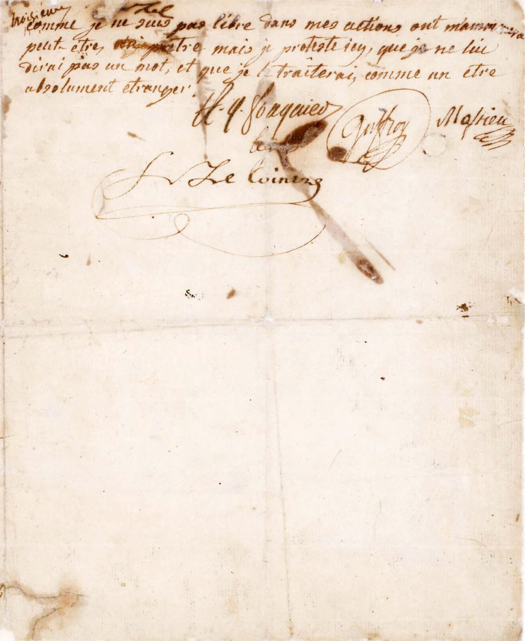 Testament / Lettre de Marie-Antoinette à Madame Elisabeth, le 16 octobre 1793 - Page 2 Derniz10