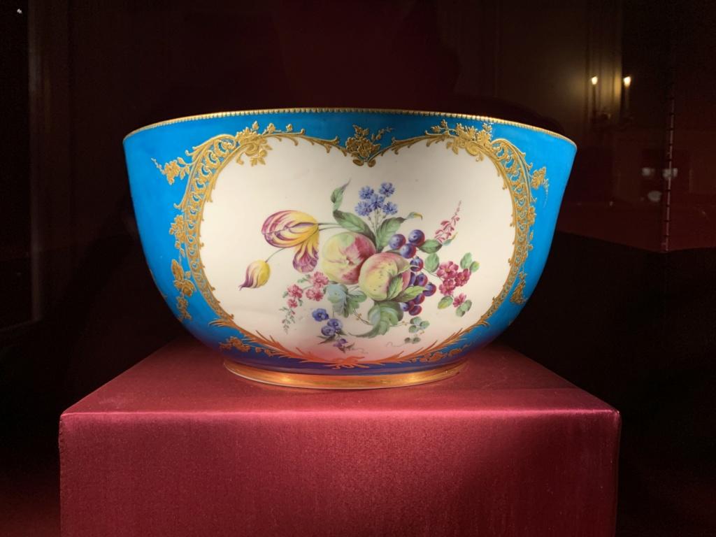 Ouverture du cabinet des porcelaines du château de Versailles  F5715f10