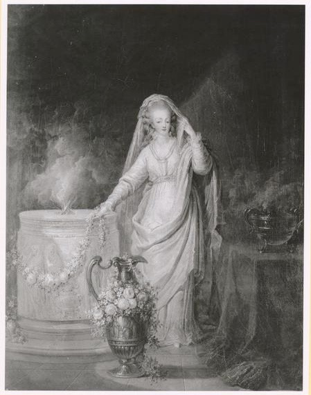 Portraits de Marie-Antoinette et de la famille royale par Charles Le Clercq - Page 3 Image_11