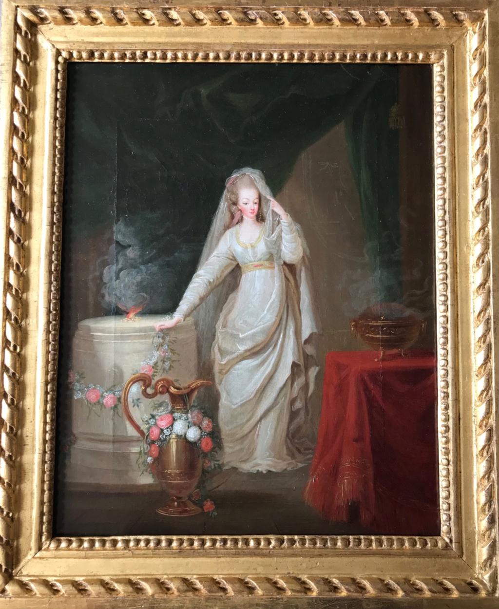 Portraits de Marie-Antoinette et de la famille royale par Charles Le Clercq - Page 3 Img_0538