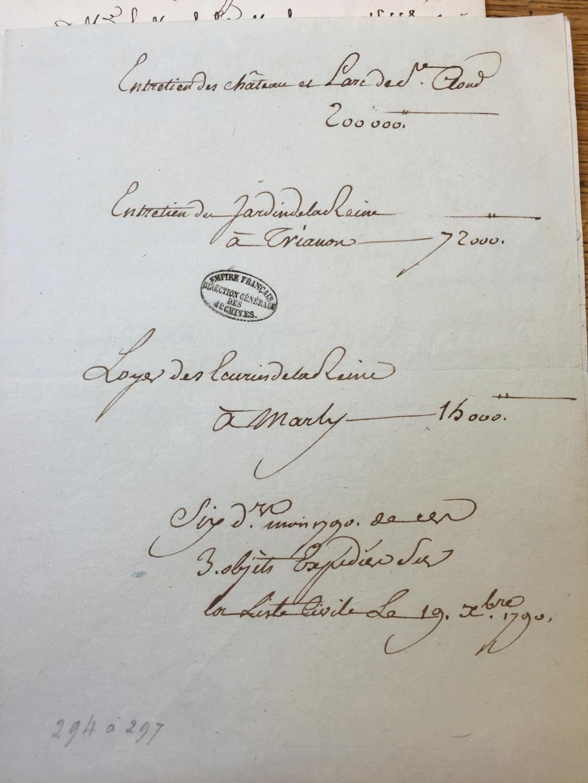 Marie-Antoinette était-elle dépensière ? Les comptes de la maison de la reine Img_1612