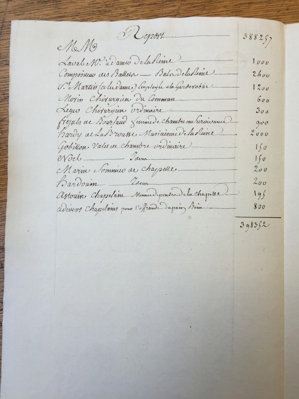 Marie-Antoinette était-elle dépensière ? Les comptes de la maison de la reine Img_1710