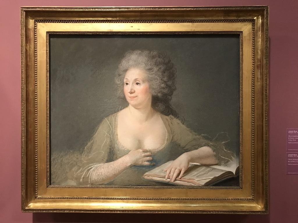 Pastels, l'exposition au musée du Louvre Img_6211
