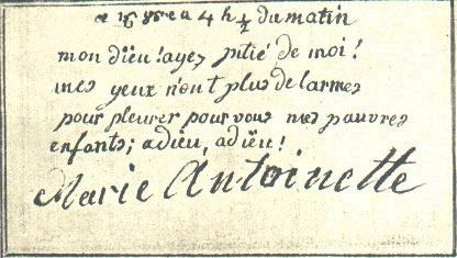 Testament / Lettre de Marie-Antoinette à Madame Elisabeth, le 16 octobre 1793 - Page 2 Ma-let10