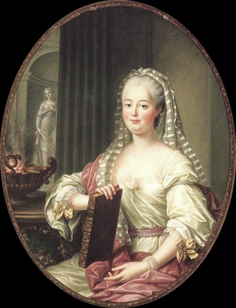 Enquête sur un tableau retrouvé de Marie-Antoinette attribué à Jean-Laurent Mosnier (vers 1776) - Page 3 Pompad10