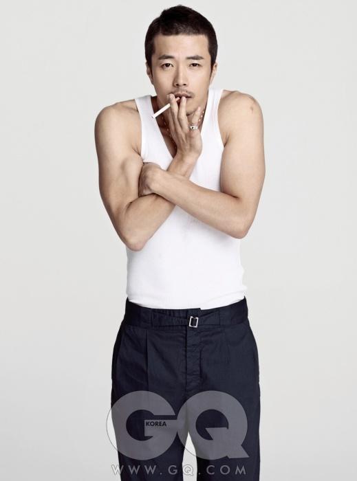 [MAGAZINE] Lee Byung Hun, Kwon Sang Woo, Jung Woo Sung, and Song Seung Heon – GQ Korea Magazine Mahkd10