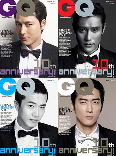 [MAGAZINE] Lee Byung Hun, Kwon Sang Woo, Jung Woo Sung, and Song Seung Heon – GQ Korea Magazine Vcuzz10