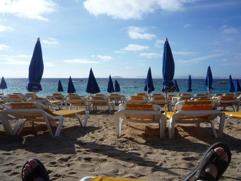 Canary Islands, Lanzarote, Playa Blanca, 2010, Airport, Aeroplane and the Thomson Dream 10910
