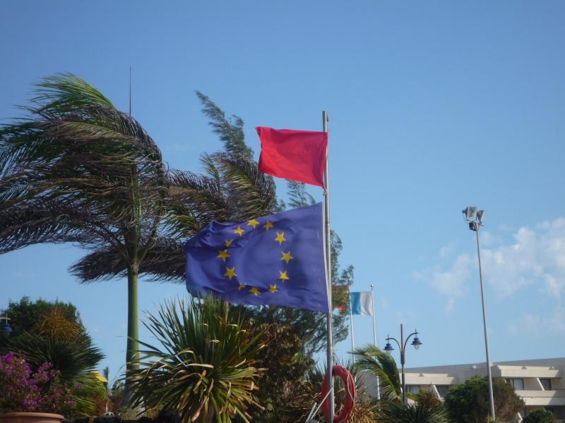 Canary Islands, Lanzarote, Playa Blanca, 2010, Airport, Aeroplane and the Thomson Dream 11010