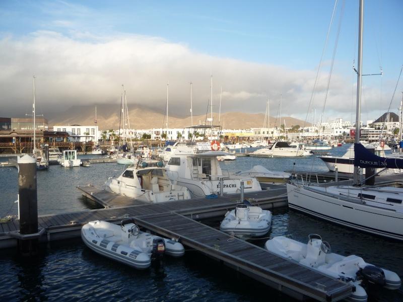 Canary Islands, Lanzarote, Playa Blanca, 2010, Airport, Aeroplane and the Thomson Dream 13110
