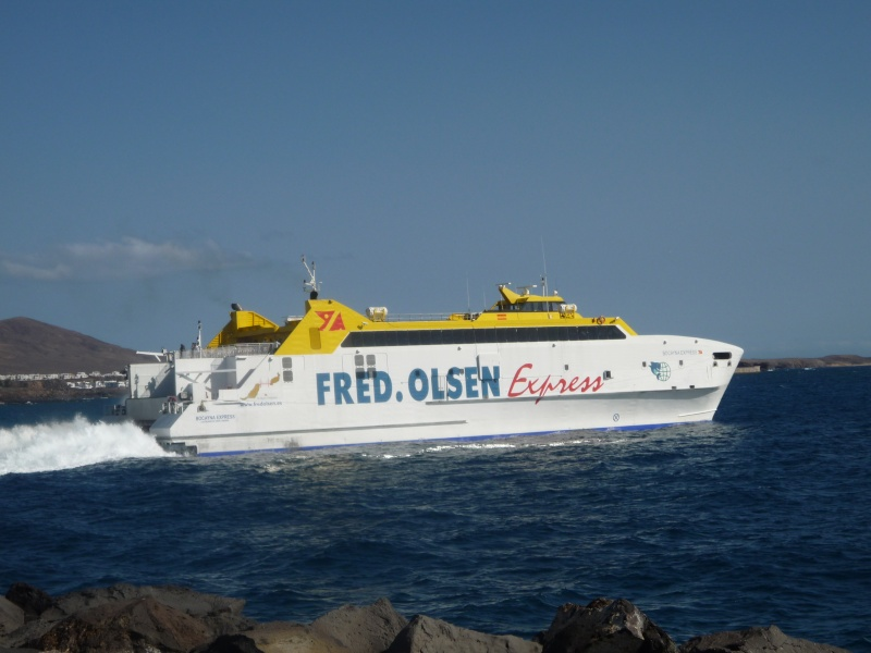 Canary Islands, Lanzarote, Playa Blanca, 2010, Airport, Aeroplane and the Thomson Dream 20410