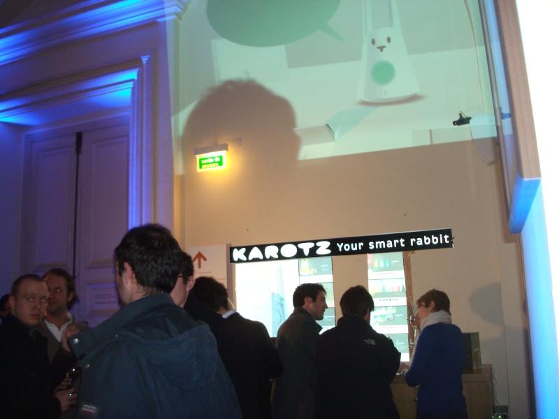 Karotz au Musée des Arts et Métiers Dsc05016