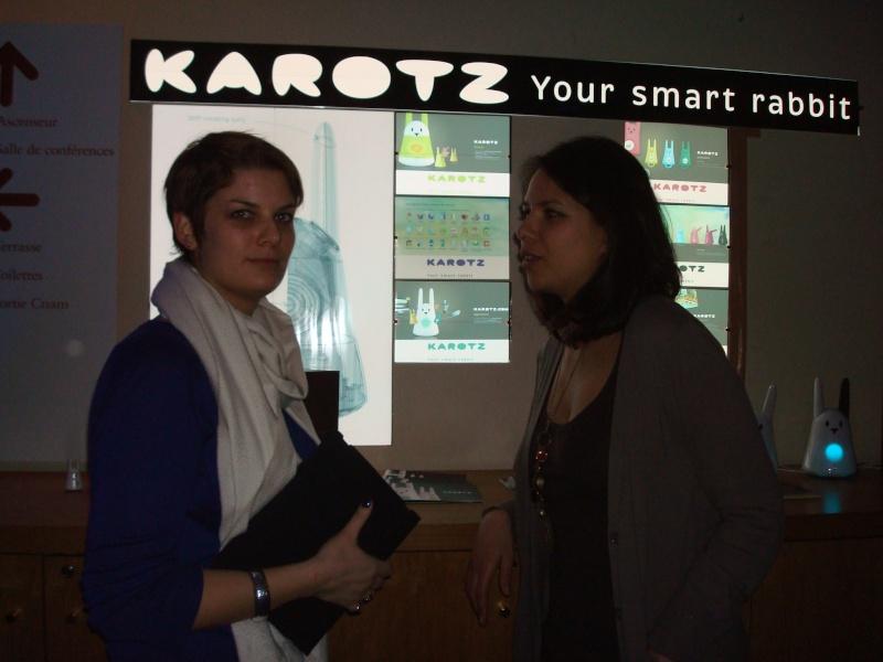Karotz au Musée des Arts et Métiers Dsc05017