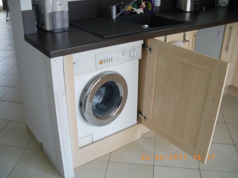 Conseil cuisine page 3 - Meuble pour cacher machine a laver ...