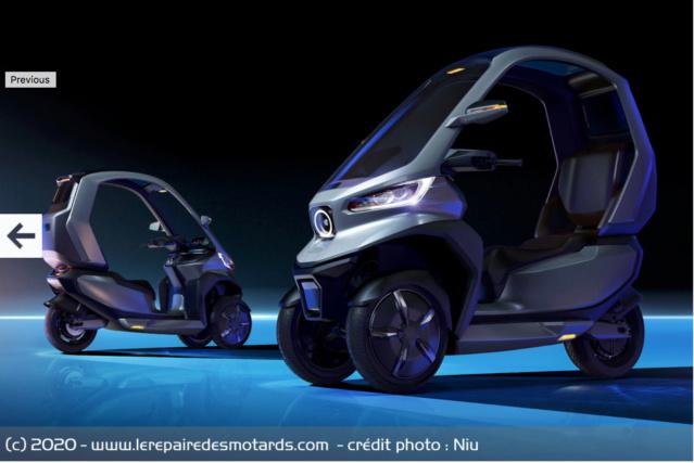 Roadster et 3-roues électrique chez Niu Captur13