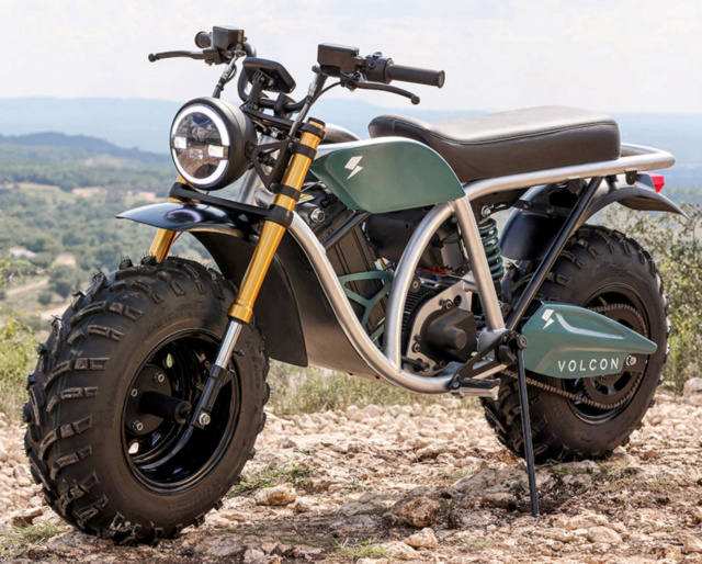 Moto électrique Volcon Grunt Captur43