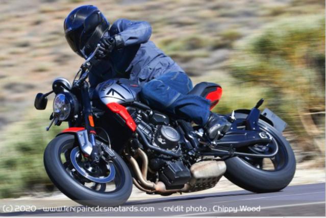 Les nouveautés motos Triumph 2021 Captur60
