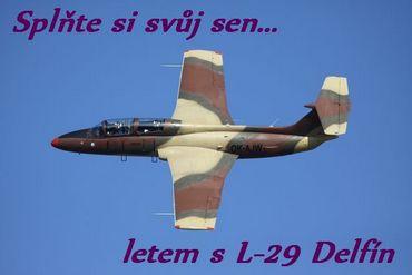 Unikátní zážitek - let proudovým letounem L-29 L29ban10