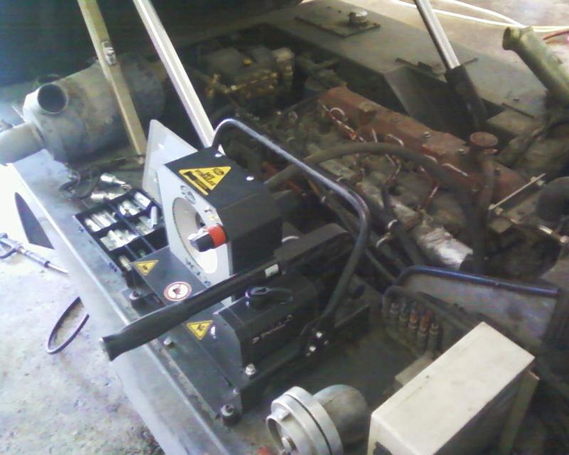 Unité transportable de sertissage des flexibles hydrauliques Photos18