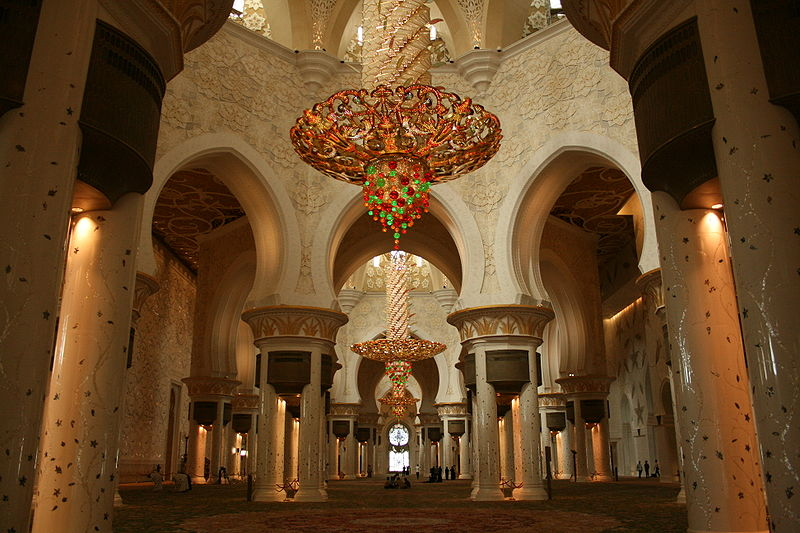 Sheikh Zayed Grand Mosque, Abu-Dhabi  - Page 4 800px-12