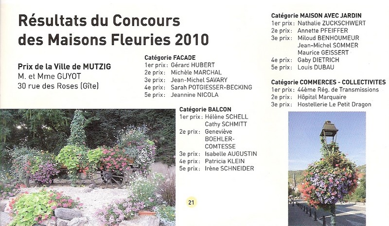Pour se faire connaitre, faire parler de son gîte au concours des maisons fleuries Concou10