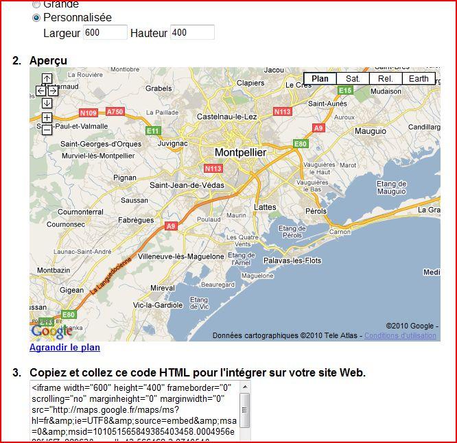 Mettre une Google Map sur son site Copie-10