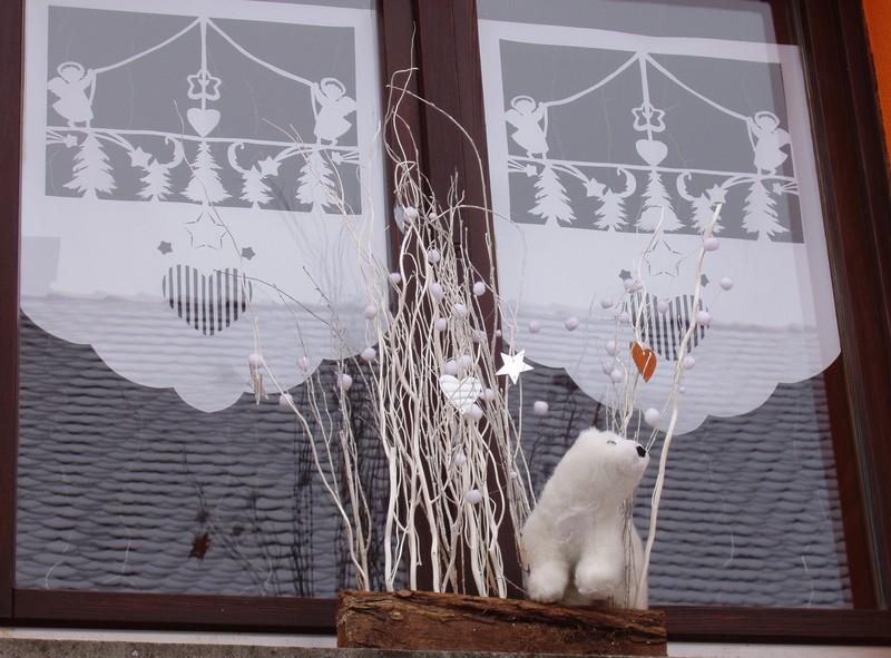 Décoration de Noël du gite Fenetr10