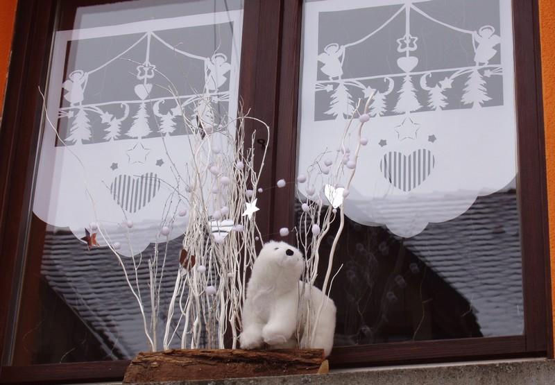 Décoration de Noël du gite Fenetr11
