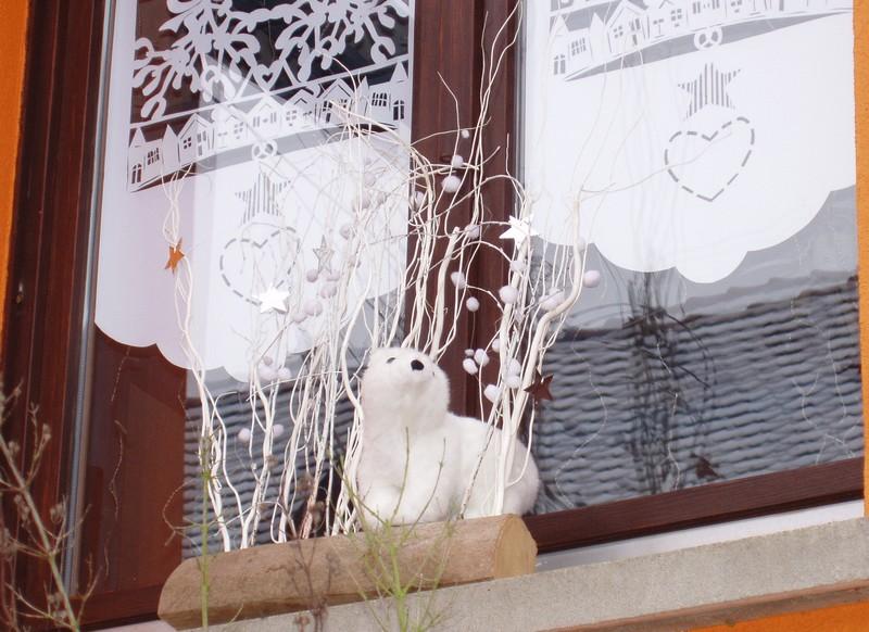 Décoration de Noël du gite Fenetr13