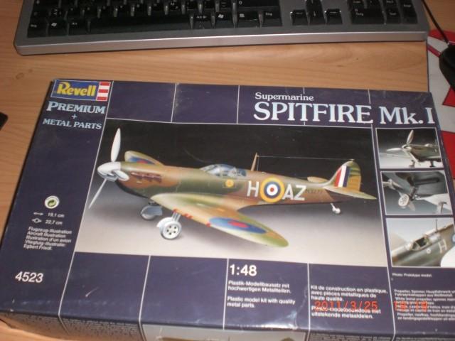 Supmarine Spitfire Mk.1  Premium  1:48 von Revell Revell10
